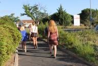 Hungriga tågluffare på väg till kråssmörjning
