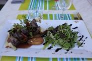 Middag med utsvultna tågluffare på Le Garde Manger i Murviel