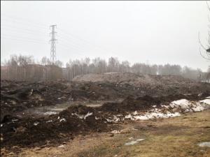 Tungmetallstinn miljökatastrof efter vinterelände