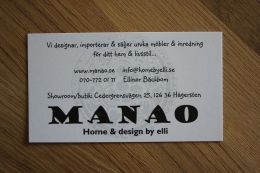 … hittade jag på Manao i Hägersten