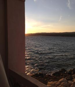 La Madrague, solnedgång