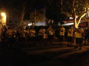 Brassorkestern gör sig beredd