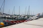 barque à joutes att använda för tornerspel till sjöss