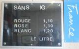 … där literpriset inte är mycket att bråka om