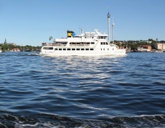 Livlig båttrafik...