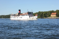 … på Stockholms vatten...