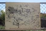 Informativa tavlor om trädgårdens historia här och där