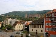 Slottet nedanför Königstuhl