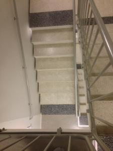 trappa i blåsut