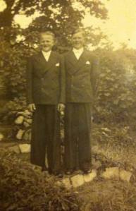 Tvillingarna Erik och Ernst