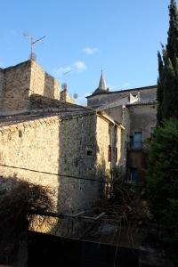 Chateau Murviel från herrskapets H:s balkong