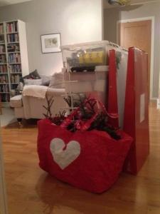 Petimeterpackning som förberedelse för årets advent/jul