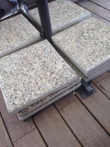 Om det duger i Mèze... eller nej, riktiga betongklumpar får det bli