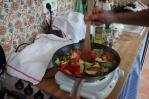 Grönsaker rakt upp och ner bara...
