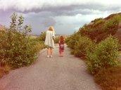 ... byts snabbt ut mot hotfulla moln och piskande regn