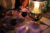 Så den obligatoriska osten och rödvin från Pinet