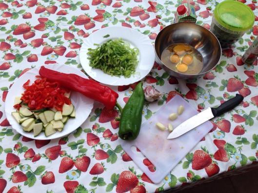 matlagning i uteköket
