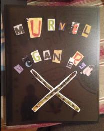 S & E satte ihop en vegankokbok till Murviel - fransoser och veganmat är ett kulinariskt utvecklingsområde, menar de...