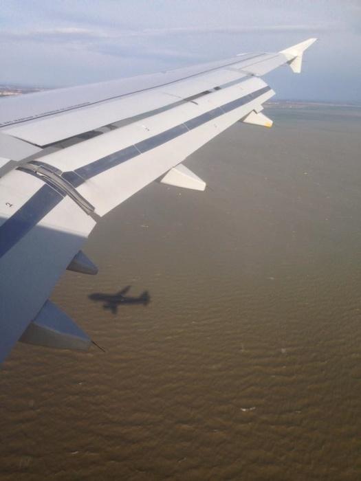flygplansskugga