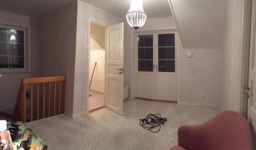 Stor hall blir liten hall och litet badrum blir stort