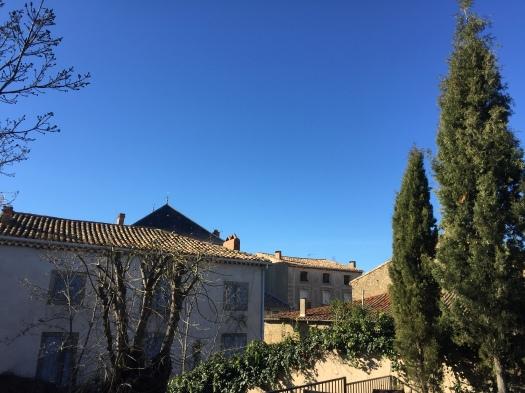 Fast himlen; den är blåare än blå!