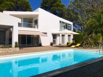 Pasi och Brettons magnifika villa
