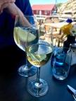 ... och franskt i glaset på Le Port Sud