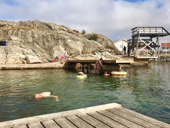 Badplatsen vid Klädesholmen