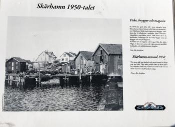 Hamnen på femtiotalet...