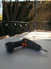 ... i solen på terrassen